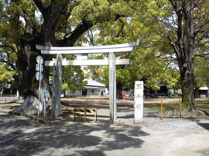 軍神社の鳥居