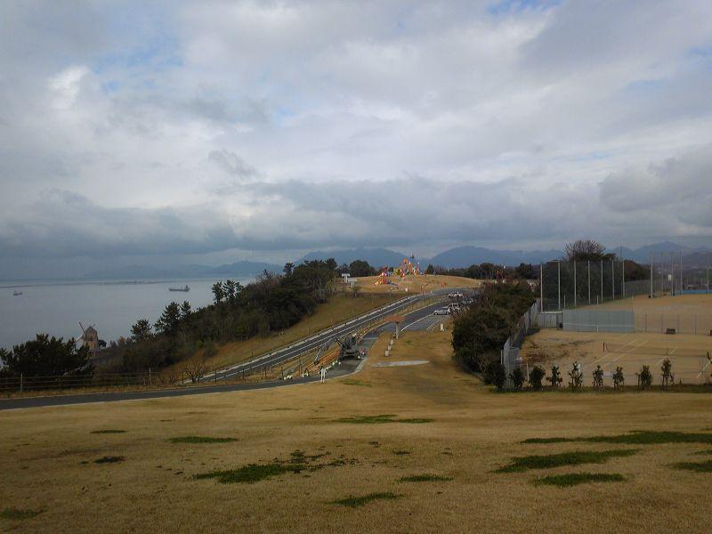 整備工事後の彦島老の山(4)