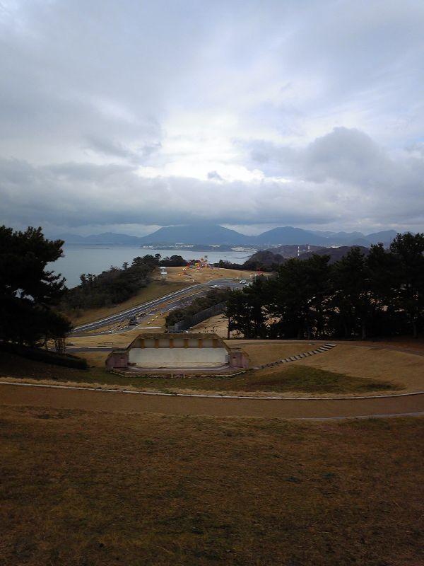 整備工事後の彦島老の山(5)