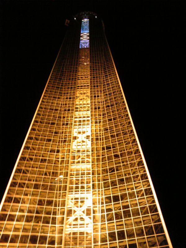 下関タワー(チ○コタワー) in 2011